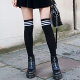 Black High Socks-Accessories-Moda Me Couture