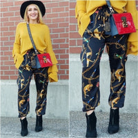 Lions & Chains Joggers-Pants-Moda Me Couture