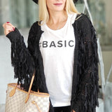 Basic Graphic Tee Top-Tops-Moda Me Couture