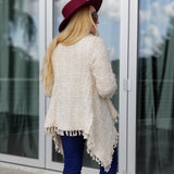 JOHANNA WaterFall Front Cardigan-Sweater-Moda Me Couture ®