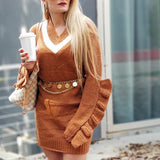 So Comfy Sweater Dress-DRESS-Moda Me Couture