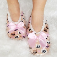 Kitty Slippers House Shoes-Shoes-Moda Me Couture