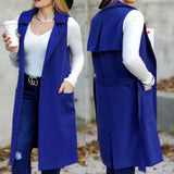 Take Me Seriously Open Front Vest-Jackets & Coats-Moda Me Couture