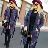 ZOEY Everyday Style Knit Cardigan - Purple-Sweater-Moda Me Couture