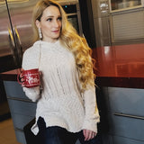 Laid Back Chenille Knit Sweater-Sweater-Moda Me Couture