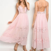 Change of Heart Pink Maxi Dress-Dress-Moda Me Couture