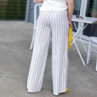 Resort Vibes Striped Pants-Pants-Moda Me Couture