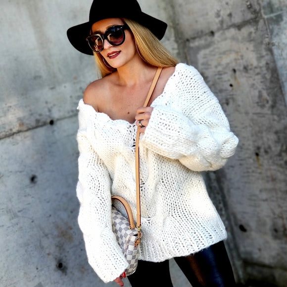 CHELSA Chunky Knit Sweater