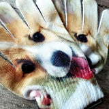 Puppy Dog Gloves - Tan