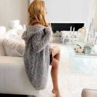 Ultra Soft Fuzzy Knit Cardigan | MODA ME COUTURE
