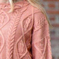 Grace Cable Knit Sweater-Sweater-Moda Me Couture