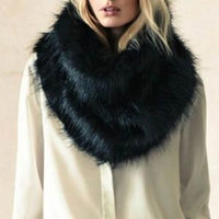 Faux Fur Infinity Scarf-Accessories-Moda Me Couture