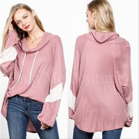 Time to get Comfy Pink Top-Tops-Moda Me Couture