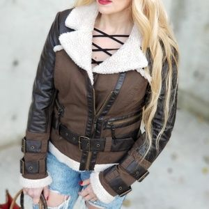 Fall Utility Jacket-Jackets & Coats-Moda Me Couture