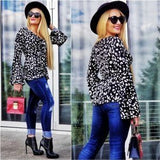 SASSY Animal Print Top