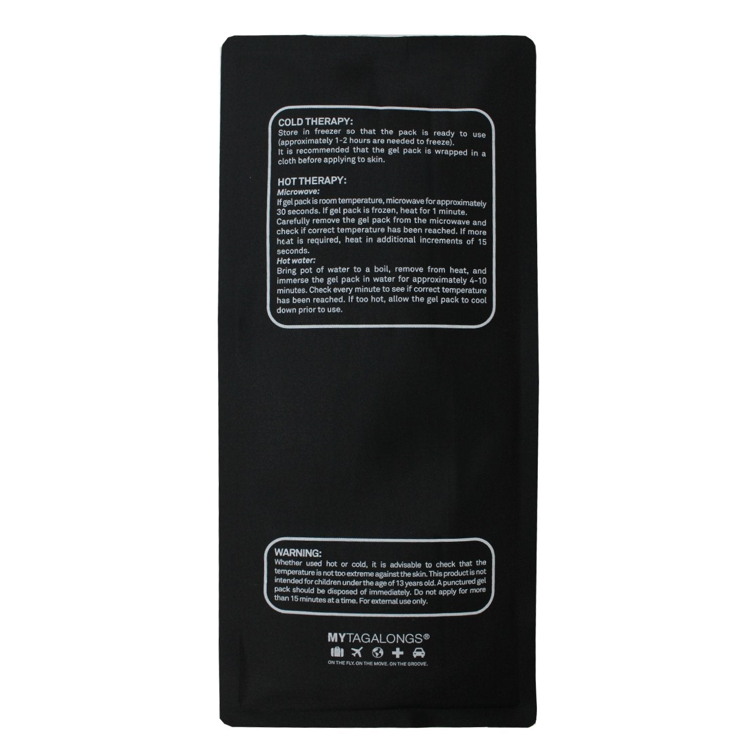 HOT/COLD PACK - BLACK