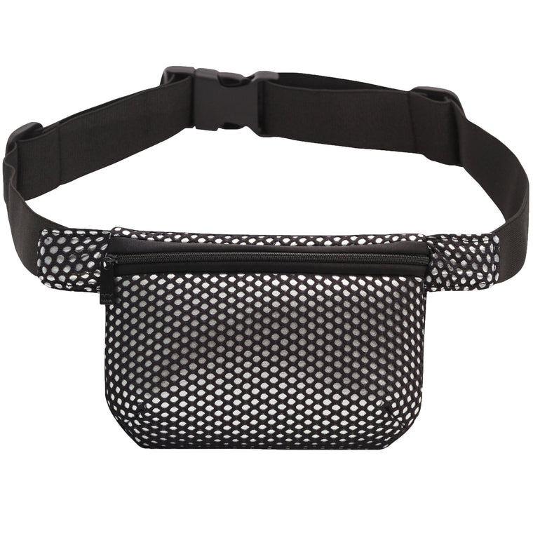 GLAM SQUAD BELT BAG - SILVER