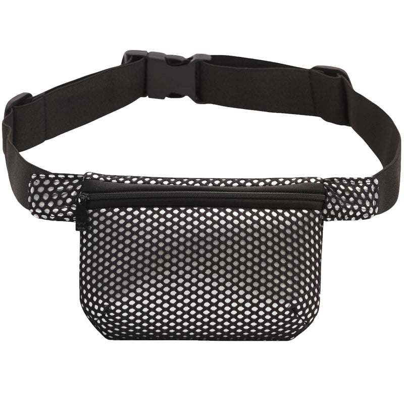 BELT BAG - GLAM SQUAD SILVER