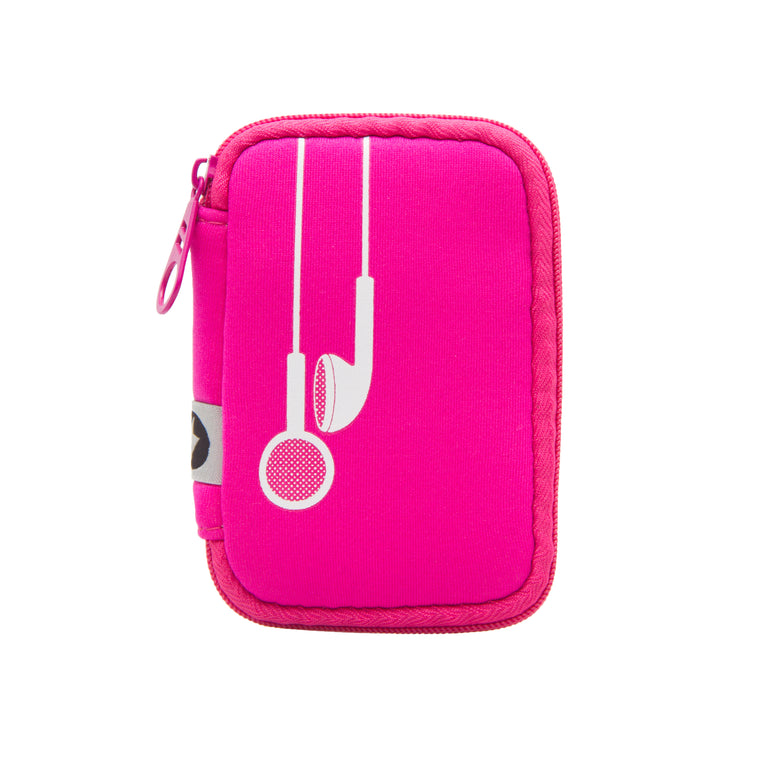 EAR BUD CASE - PLUG IN PINK