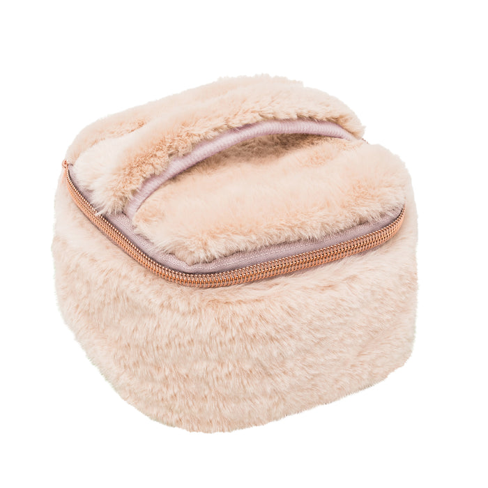 JEWELRY ORGANIZER - MINX CREAM (faux fur)