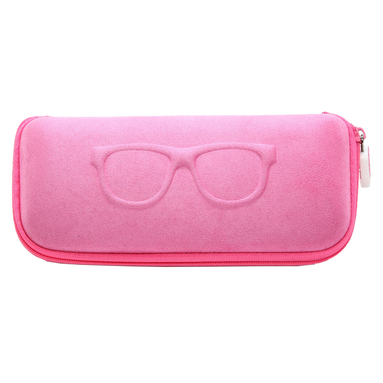 EYEGLASS/SUNGLASS CASE - PINK
