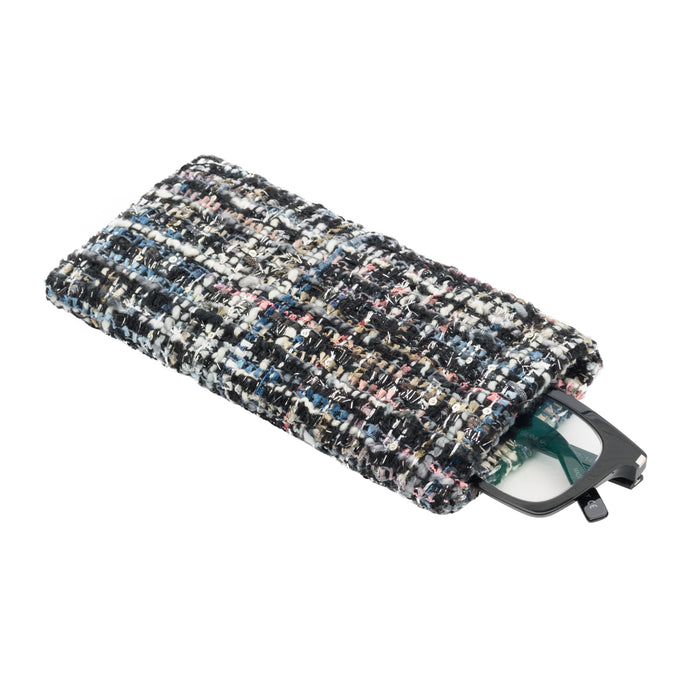 FLAT EYEGLASS/SUNGLASS CASE - GIGI BLACK
