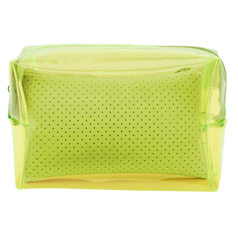 LARGE COSMETIC CASE - MALIBU YELLOW