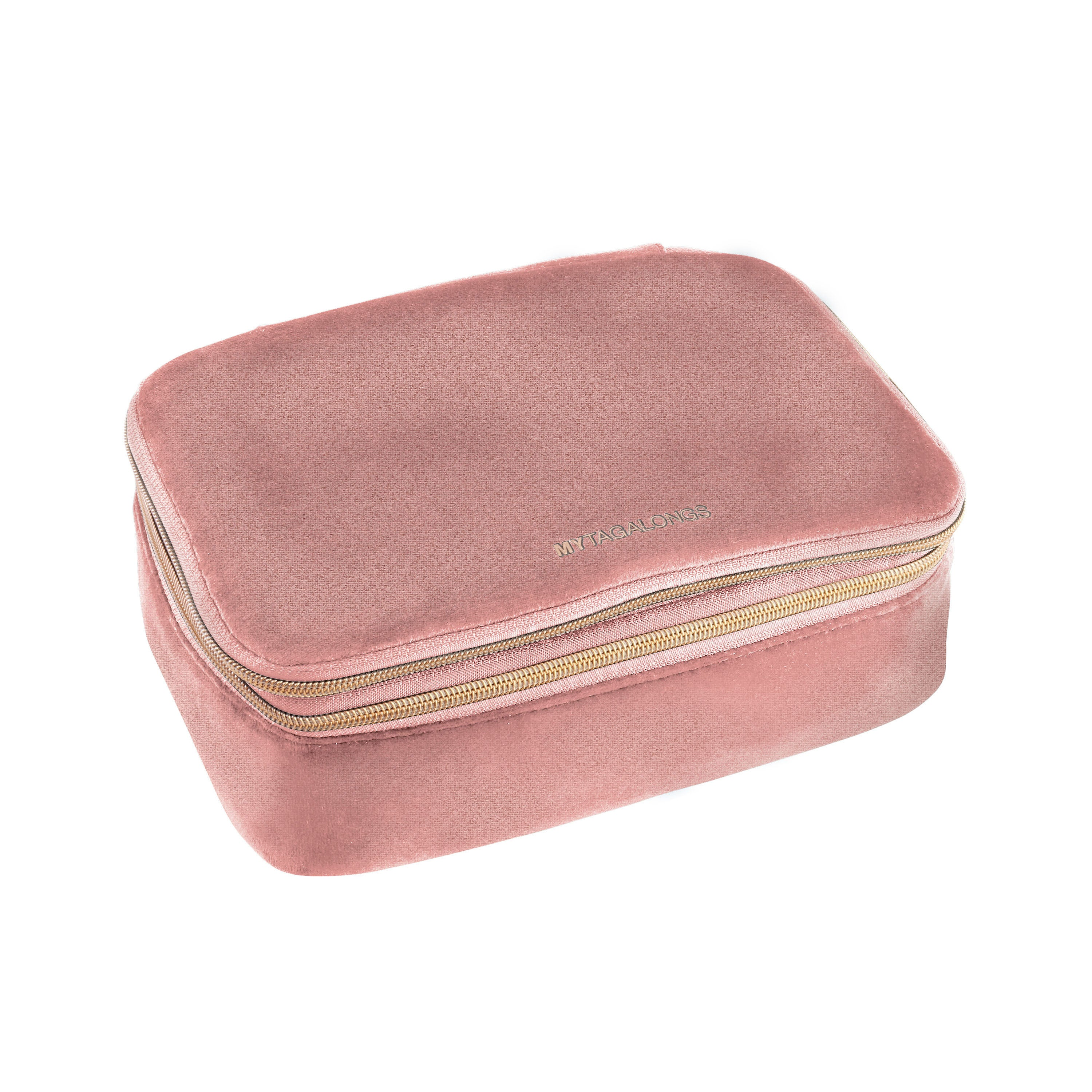 DELUXE BEAUTY ORGANIZER - VIXEN ROSE (velour finish)