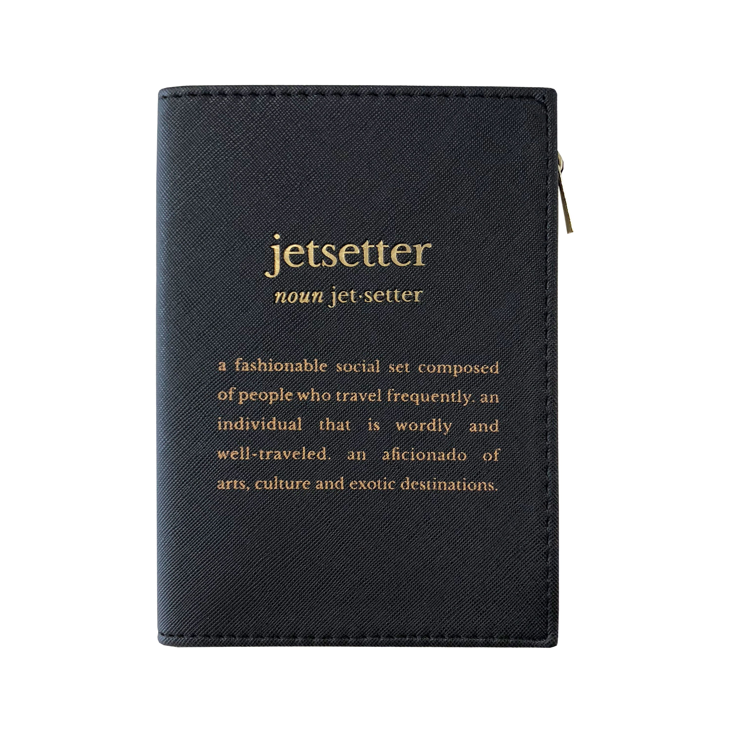PASSPORT CASE - DEFINITIONS JETSETTER BLACK