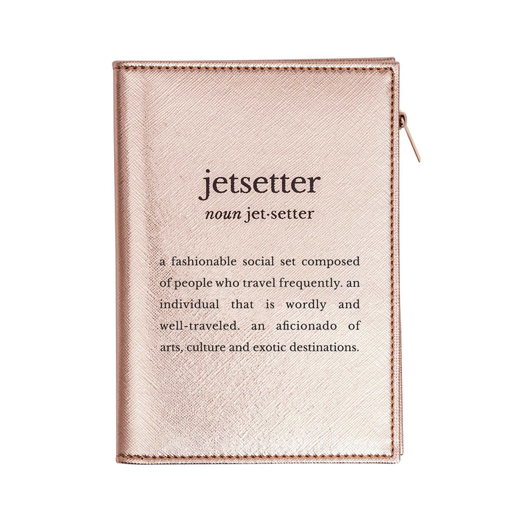 PASSPORT CASE - DEFINITIONS JETSETTER ROSE GOLD
