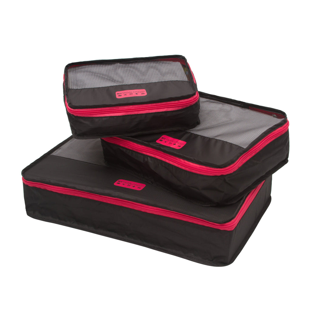 Packing Pods - Black/Pink