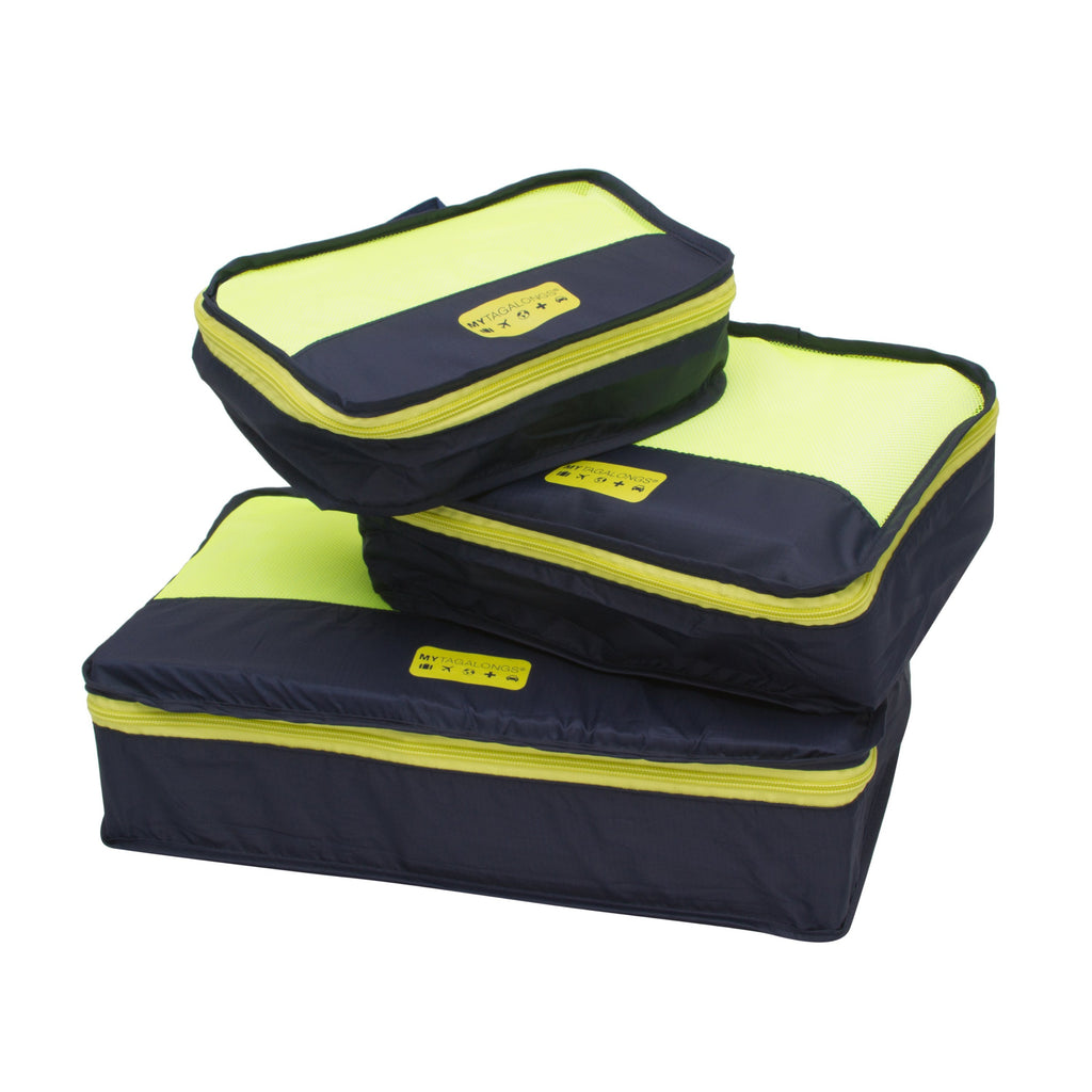 PACKING PODS - NAVY/LIME