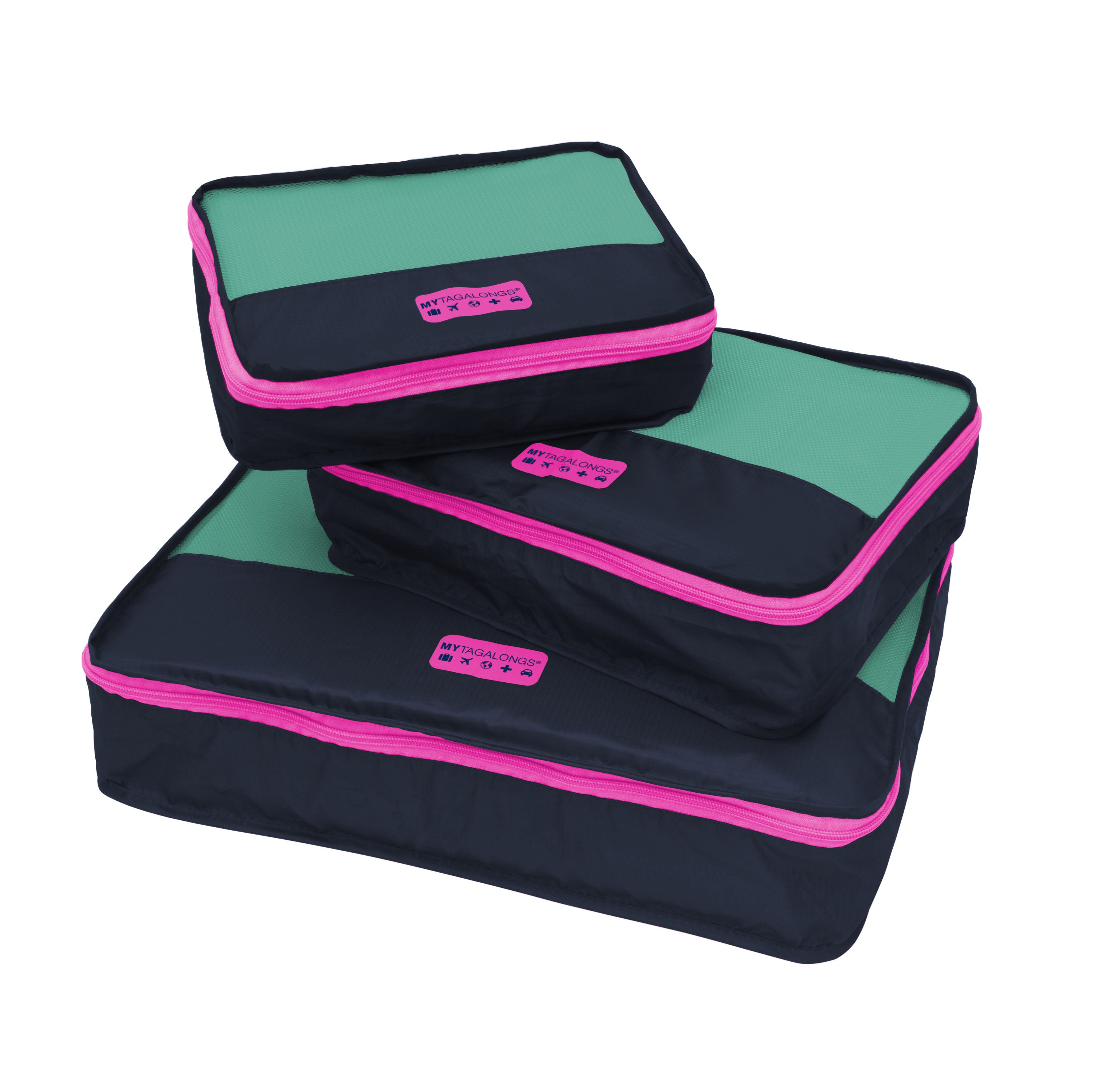 PACKING PODS - NAVY/PINK