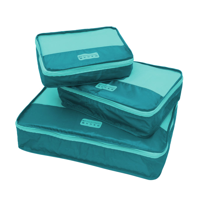 PACKING PODS - TEAL/TURQUOISE