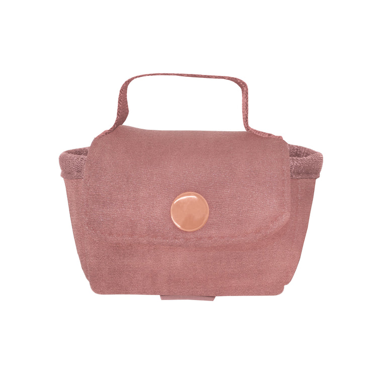AIRPOD CROSS BODY- VIXEN ROSE (velour finish)