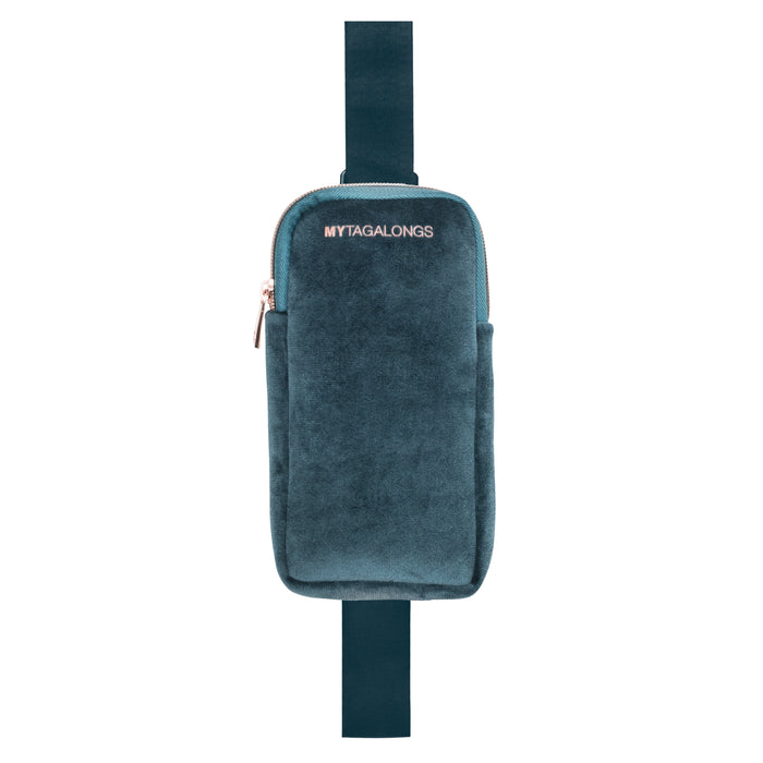 PHONE SLING CROSS BODY - VIXEN INDIGO (velour finish)