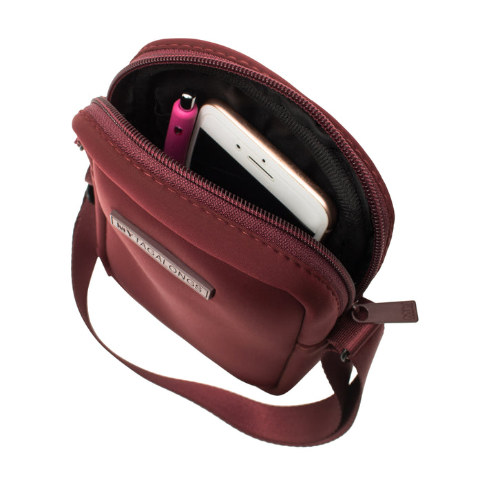 MINI CROSS BODY - EVERLEIGH MERLOT