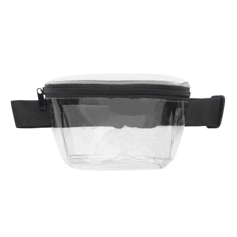 CLEAR FANNY PACK - MALIBU BLACK