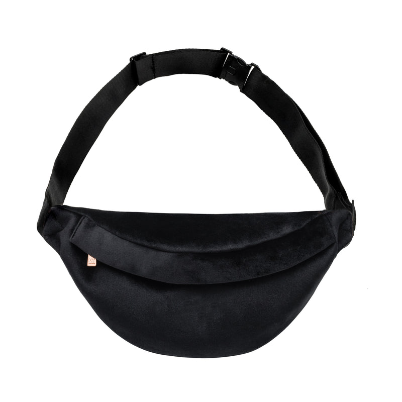 PARKER FANNY PACK - VIXEN BLACK (velour finish)