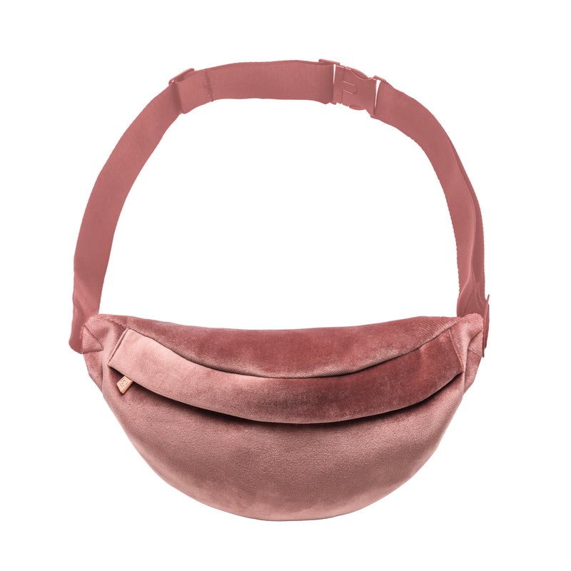 PARKER FANNY PACK - VIXEN ROSE (velour finish)