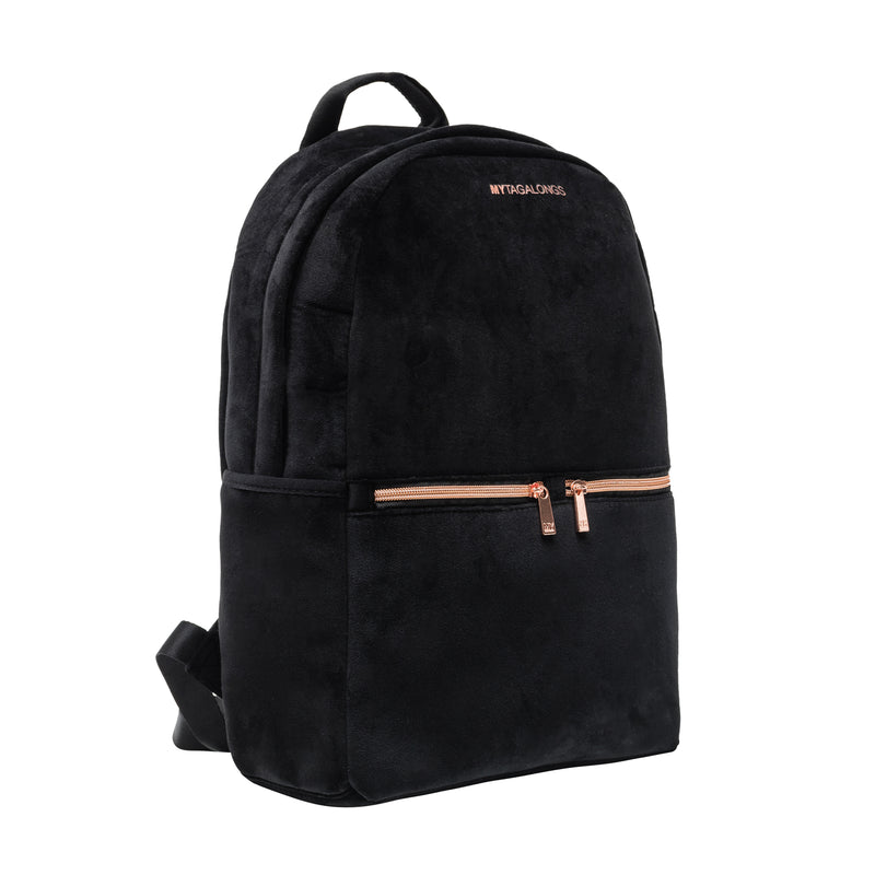 BACKPACK - VIXEN BLACK (velour finish)