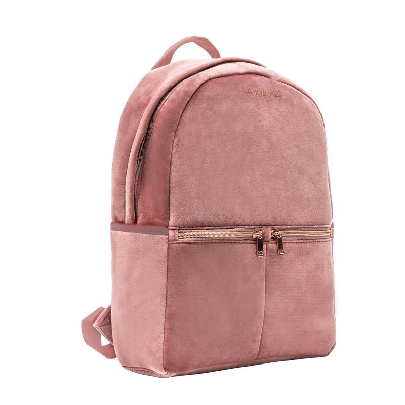 BACKPACK - VIXEN ROSE (velour finish)