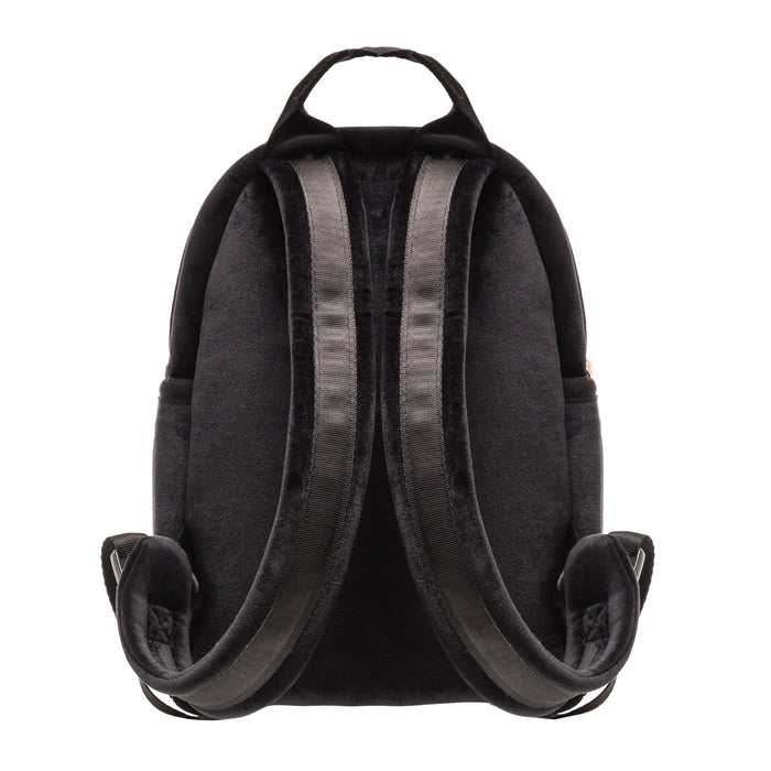 MINI BACKPACK - VIXEN BLACK (velour finish)