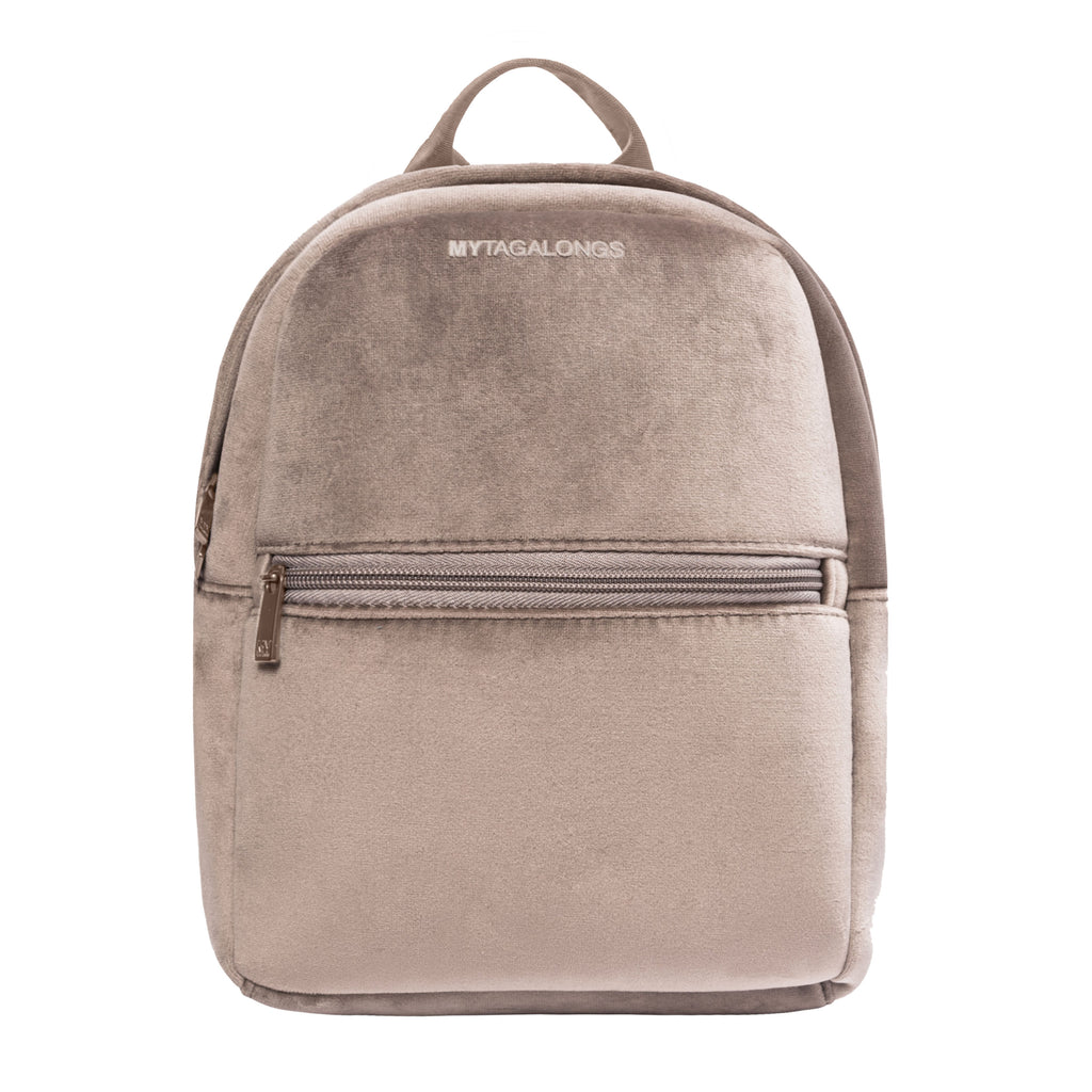 MINI BACKPACK - VIXEN FAWN (velour finish)