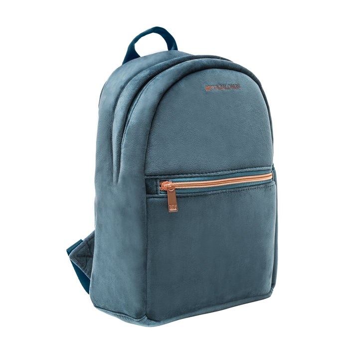 MINI BACKPACK - VIXEN INDIGO (velour finish)