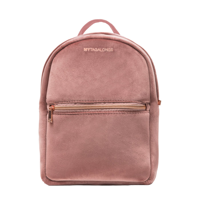 MINI BACKPACK - VIXEN ROSE (velour finish)