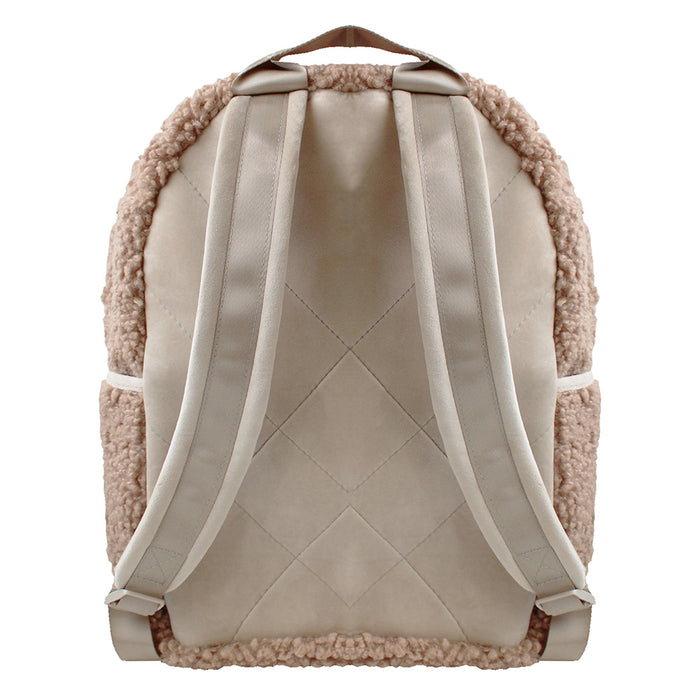 BACKPACK - HARLOW FAWN (teddy bear fur)