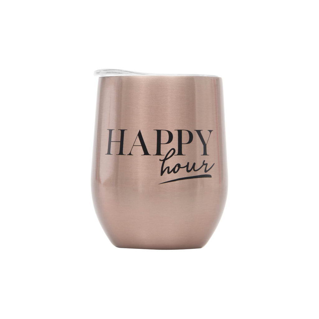 WINE CUP - HAPPY HOUR ROSE GOLD
