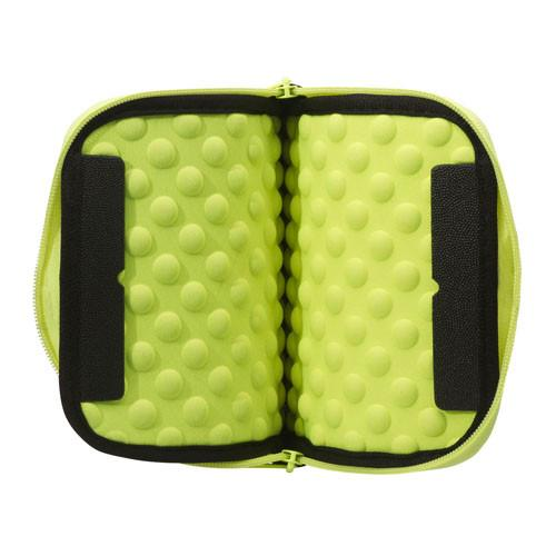 2 in 1 Tablet Sleeve and Stand - Plug In Lime (Small)