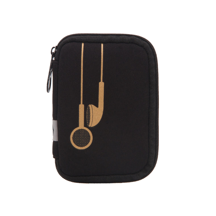 EAR BUD CASE - PLUG IN METALLIC ROSE GOLD